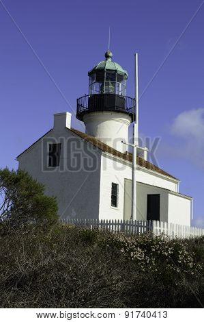 The Lighthouse At Cabrillo National Park