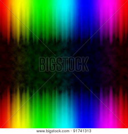 Abstract Colorful Background With Rainbow Spectrum Colors