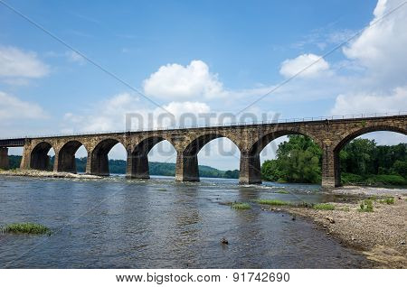Stone Arch Railroad Bridge