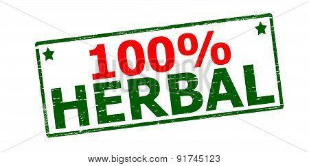 One Hundred Percent Herbal