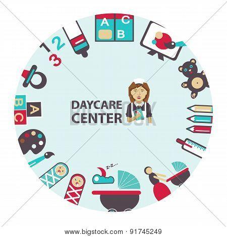 Daycare Center Emblem.