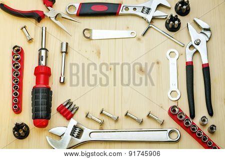 Work Tools Background