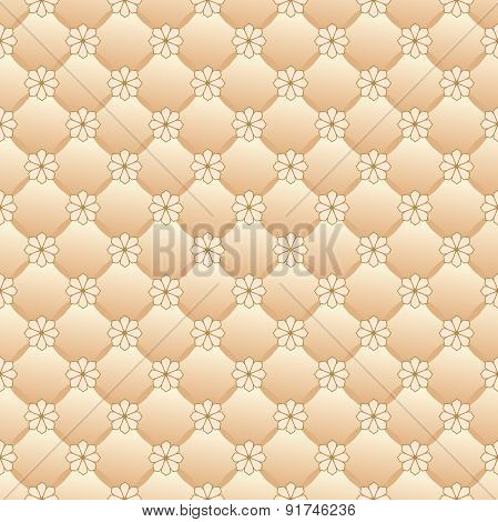 Vector repeating pattern of the upholstery.