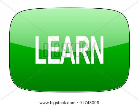 learn green icon