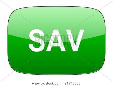 sav green icon
