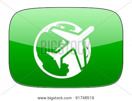 travel green icon