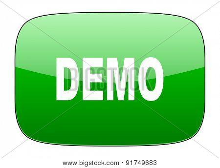 demo green icon