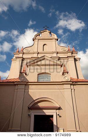 Church Of St. Ignatius. Vilnius, Lithuania