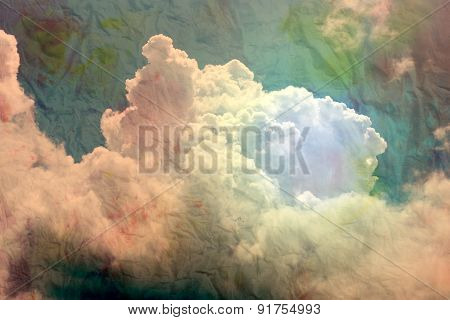 Big Beautiful White Cloud
