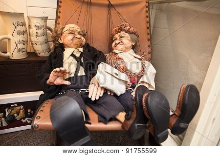 Czech Puppet Couple