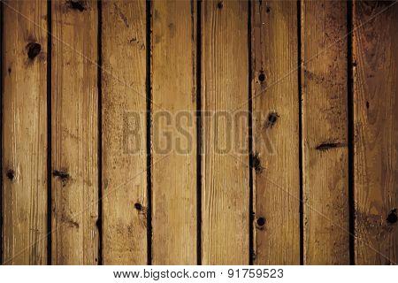 Old wooden texture, vector