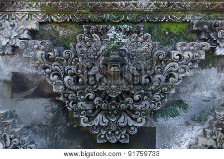 Fresco Hindu Temple Complex In Bali, Indonesia