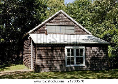 Jackson Pollock's Studio Barn