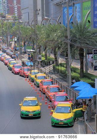 Bangkok taxi Thailand