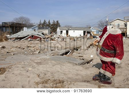 Hurricane Sandy Destruction At Breezy Point - Photo 3