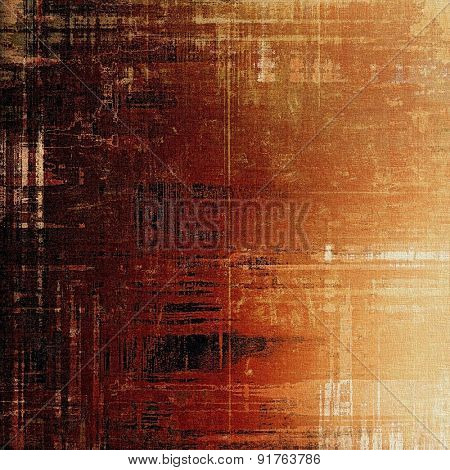 Grunge retro vintage texture, old background. With different color patterns: yellow (beige); brown; black