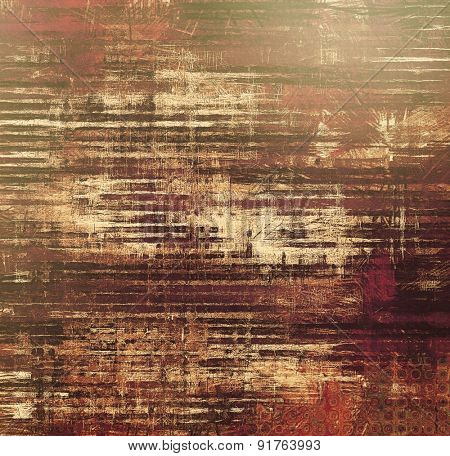 Grunge retro vintage texture, old background. With different color patterns: brown; gray; black; purple (violet)