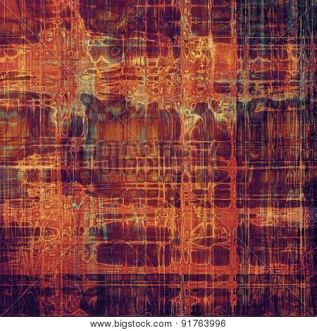 Highly detailed grunge texture or background. With different color patterns: brown; red (orange); blue; purple (violet)