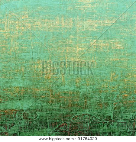 Retro texture. With different color patterns: yellow (beige); brown; cyan; green