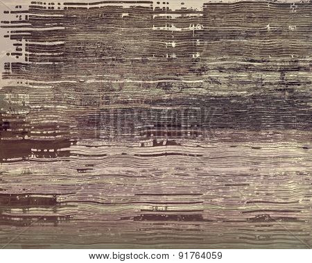 Grunge texture, Vintage background. With different color patterns: brown; gray; black