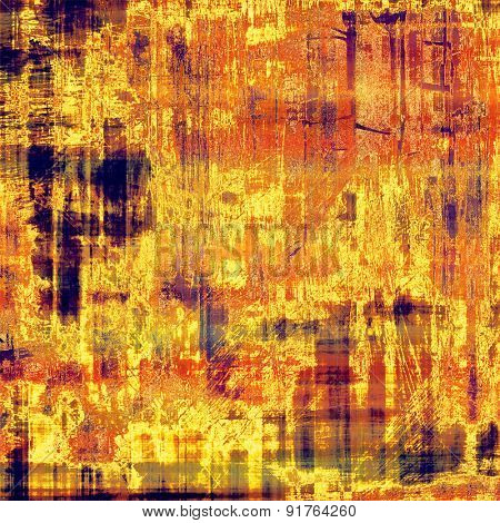 Retro background with grunge texture. With different color patterns: yellow (beige); brown; red (orange); purple (violet)