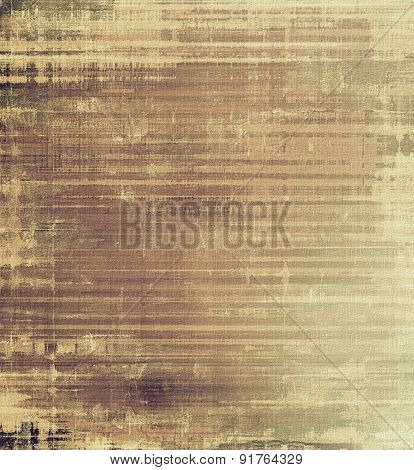 Grunge, vintage old background. With different color patterns: yellow (beige); brown; gray