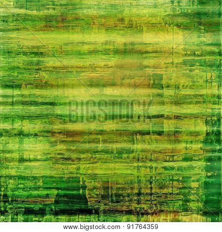 Old texture - perfect background with space for your text or image. With different color patterns: yellow (beige); brown; green