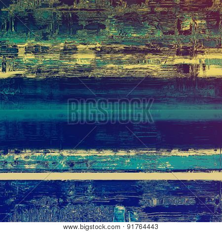Old Texture or Background. With different color patterns: yellow (beige); blue; cyan; purple (violet)