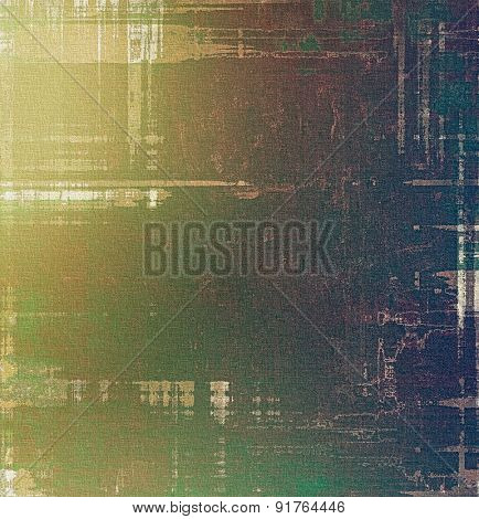 Vintage texture for background. With different color patterns: yellow (beige); brown; gray; green