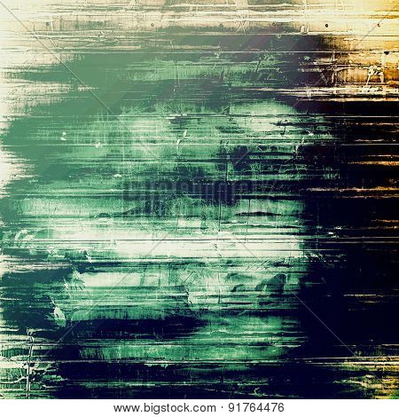 Background with grunge stains. With different color patterns: gray; black; blue; green