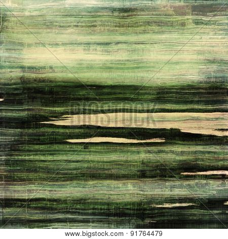 Old abstract grunge background, aged retro texture. With different color patterns: yellow (beige); brown; gray; green