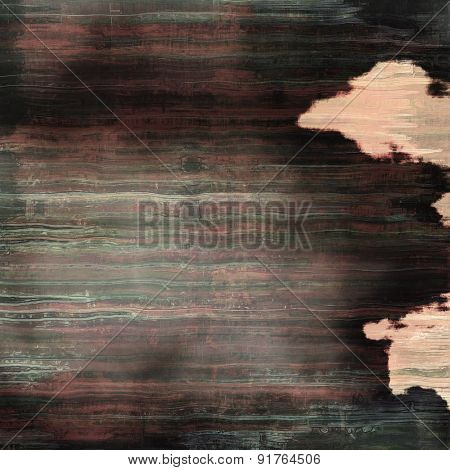 Old and weathered grunge texture. With different color patterns: brown; gray; black; pink