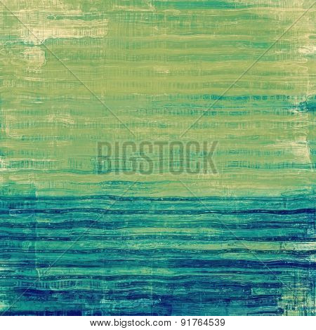 Old Texture. With different color patterns: brown; blue; cyan; green
