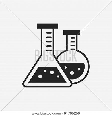 Experiment Beaker Icon