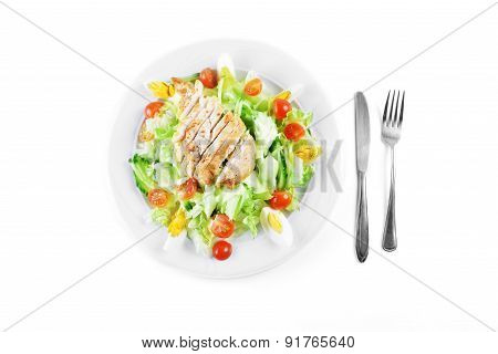 Salad With Lettuce