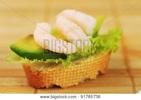 Sandwich  With Shrimps
