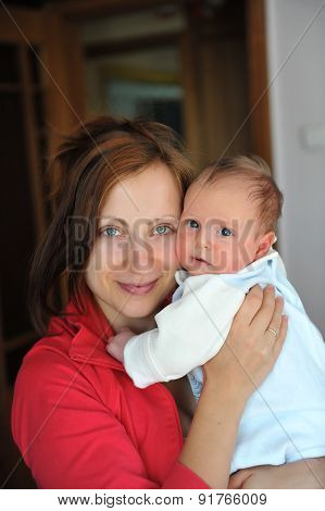 Baby And Mom.