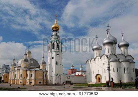 Saint Sophia Cathedral in Vologda, Russia.