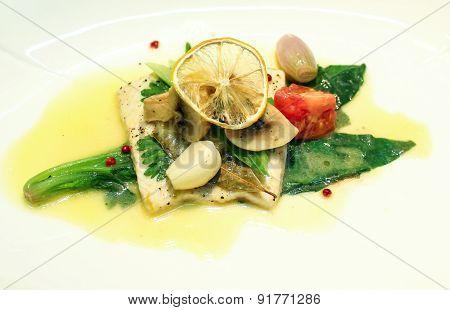 Delicious flounder