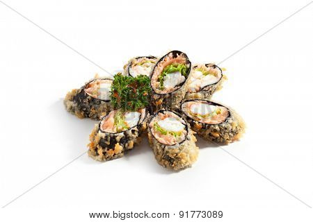Tempura Maki Sushi - Deep Fried Roll