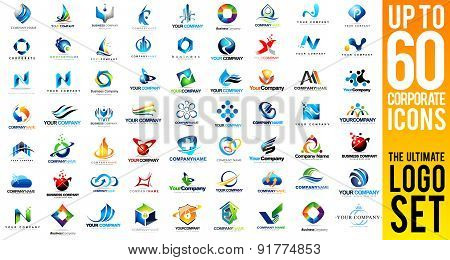 Business Corporate Logo Set