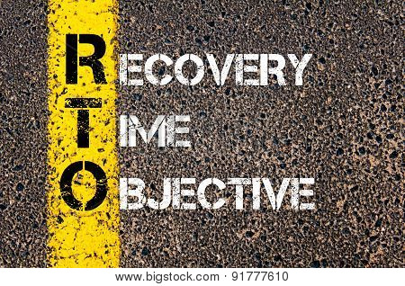 Business Acronym Rto As Recovery Time Objective