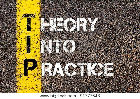 Business Acronym Tip As Theory Into Practice