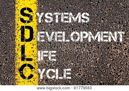 Concept image of Business Acronym SDLC