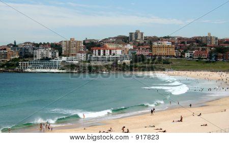 Bondi Beach Scene