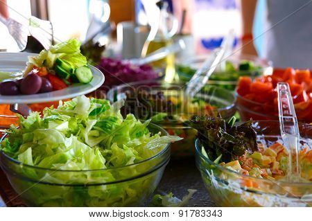 Salad Buffet.