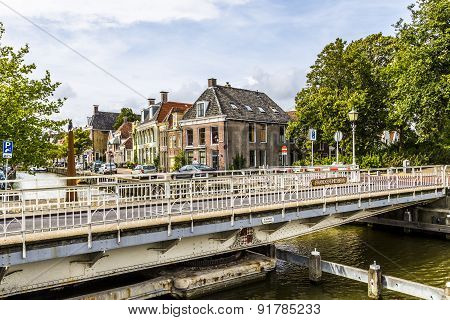 Bridge In Harlingen, Netherlands
