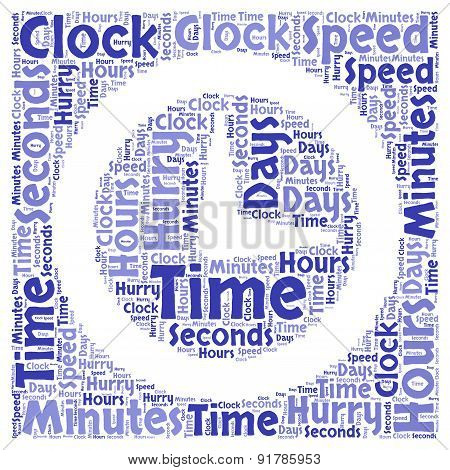 Time - Word Cloud
