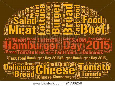 Hamburger Day 2015 - Word Cloud