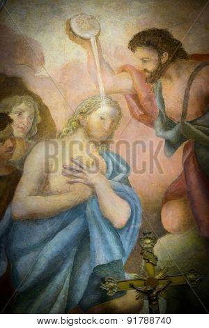 Fresco Santa Maria Cosmedin